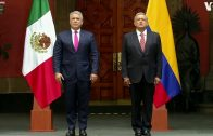 Colombian President on Official Visit to Mexico